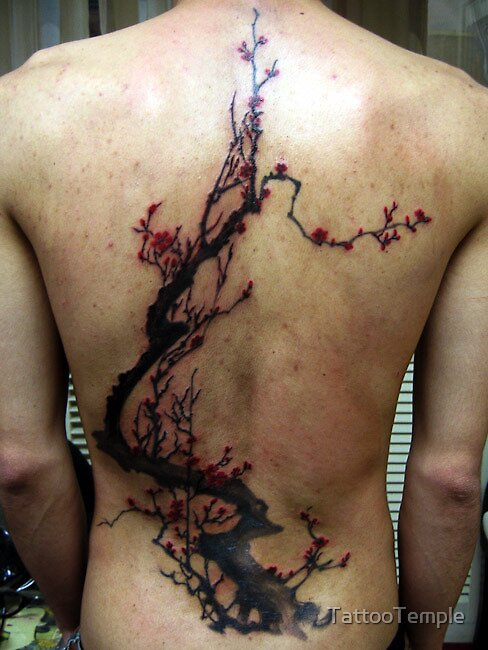 Freehand Tree by TattooTemple