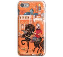 Prince on horse.  iPhone Case/Skin