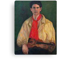 The Violin Player Canvas Print