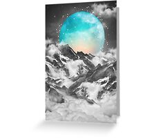 It Seemed To Chase the Darkness Away (Guardian Moon / Winter Moon) Greeting Card
