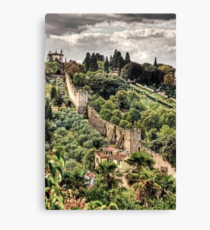 Walls of Florence Canvas Print