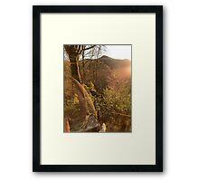 Mountain Bliss Framed Print