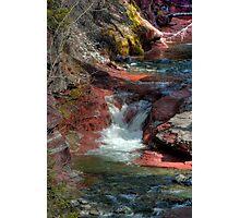 Red Rock Canyon, Waterton National Park, Alberta, Canada Photographic Print