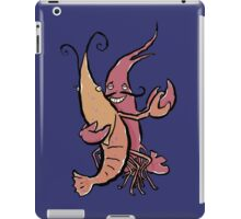 swaying lobsters iPad Case/Skin