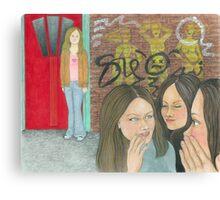 Mean girls Canvas Print