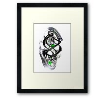 The Inkwell Abstract Framed Print