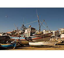 Algarve: Lagos Harbour Photographic Print