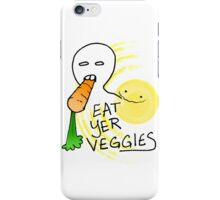 Eat Yer Veggies iPhone Case/Skin