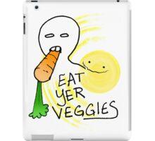 Eat Yer Veggies iPad Case/Skin