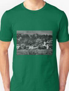 Obertraun walks 7 b&w T-Shirt
