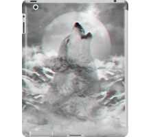 Maybe the Wolf Is In Love with the Moon iPad Case/Skin
