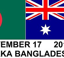 Australia Tour of Bangladesh by WoodenDuke