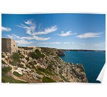 Algarve: Cliff Coastline Poster