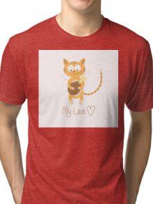 My love. Tri-blend T-Shirt
