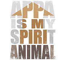 APPA IS MY SPIRIT ANIMAL Photographic Print