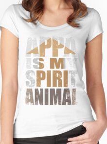 APPA IS MY SPIRIT ANIMAL Women's Fitted Scoop T-Shirt