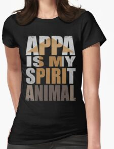 APPA IS MY SPIRIT ANIMAL Womens Fitted T-Shirt