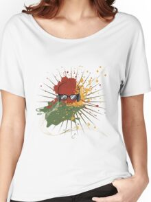 Male Dj Illustration 2 Women's Relaxed Fit T-Shirt