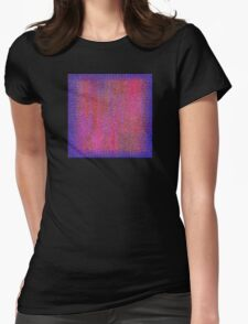 Blue Edge Womens Fitted T-Shirt