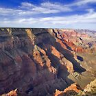 Grand Canyon National Park Canyon View by photosbyflood