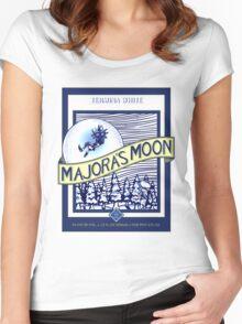 Majora's Moon Women's Fitted Scoop T-Shirt
