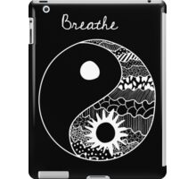 Breathe Featuring Confucius Sign iPad Case/Skin