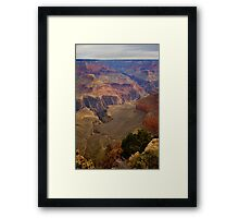 Grand Canyon National Park Birds Eye View Framed Print