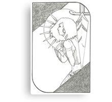 Seven of Swords - Tarot Card Canvas Print