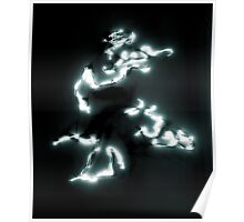 Laser Painting Poster