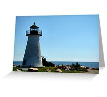 Ned's Point Lighthouse Greeting Card
