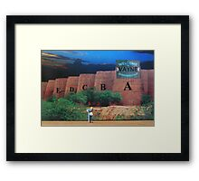 Phil didn't mind building Forts A thru E here, but he sure didn't want his F Forts to be in Vayne. Framed Print