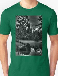 Obertraun walks 12 b&w T-Shirt