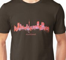 Auckland New Zealand Skyline art Unisex T-Shirt