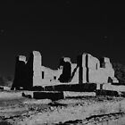 Salinas Pueblo Missions - Quarai Unit - in Moonlight by TheBlindHog
