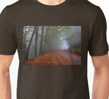 Lonesome stranger at the mythical mountain Unisex T-Shirt