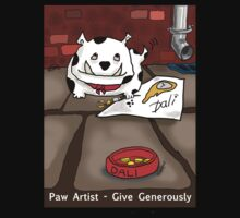 Paw Artist - Give Generously by Kev Moore