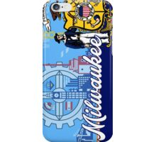 Patriotic Milwaukee Flag Seal iPhone Case/Skin