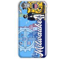 Patriotic Milwaukee Flag Seal iPhone Case/Skin