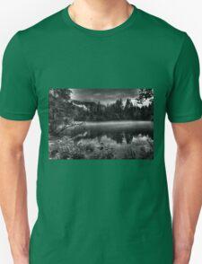 Obertraun walks 13 b&w T-Shirt