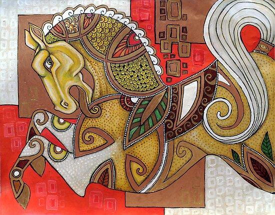 Carousel by Lynnette Shelley