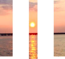 Sunset Zero Sticker