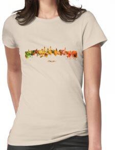 Glasgow, Scotland skyline Womens Fitted T-Shirt