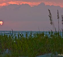 St. Simons Island Beach Sunrise September 2010 by Phillip S. Vullo Jr.