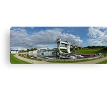 Falkirk Wheel canal engineering Canvas Print