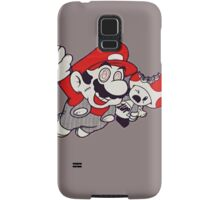 Mario Flying Mushroom Samsung Galaxy Case/Skin