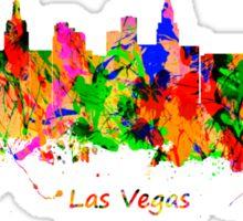 Las Vegas Nevada City USA skyline  Sticker