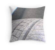 Car Tyre Throw Pillow