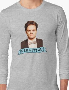 Sebastian Stan Long Sleeve T-Shirt
