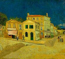 Vincent Van Gogh - The Yellow House by lifetree