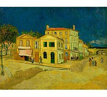 Vincent Van Gogh - The Yellow House Photographic Print